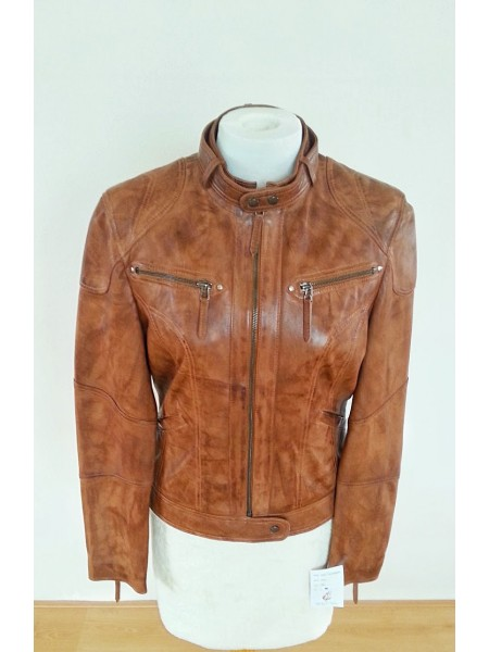 Sportive Leather Jacket